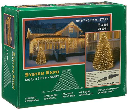 System Expo 484-33 Trapez-Netz 70 x 300 x 200 cm Start Kegel-system