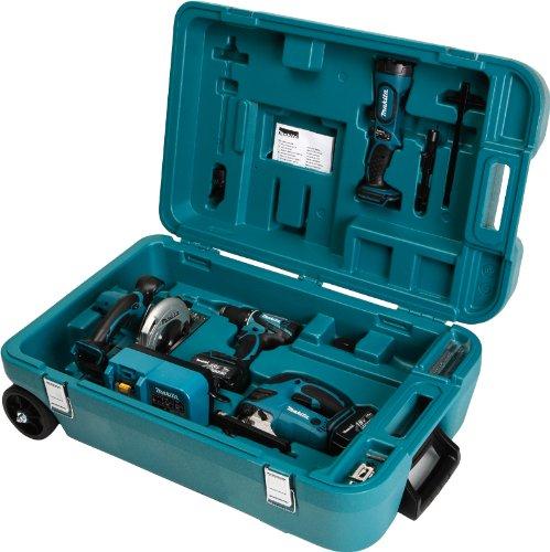 Makita DK1869 Combo-Kit 18 V (BDF456+BJV180+BSS501+BML185) (Combo-tools Makita)