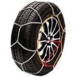 """Husky Sumex Winter Classic Alloy Steel Snow Chains for 16"""" Car Wheel Tyres"""