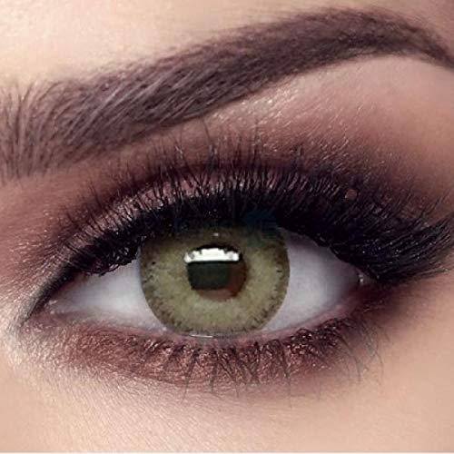natürliche stark deckende farbige Kontaktlinsen grüne Farblinsen
