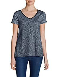 Eddie Bauer Damen Shirt im Materialmix
