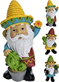 Marvin der mexikanischen Garden Gnome in 3 Designs