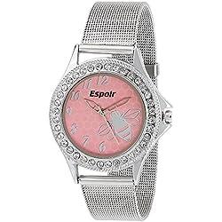 Espoir Pink Dial Women's Analogue Watch - Pink Beauty 0507