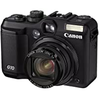 Canon PowerShot G10 14.7MP Digital Camera - 5x Optical Zoom, 3 inch PureColor LCD II Viewfinder - Black