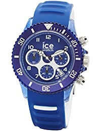 Ice-Watch  Blau Herrenuhr mit Silikonarmband - Chrono - 012734 Large