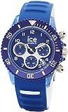 Ice-Watch - ICE aqua Marine - Montre bleue pour homme avec bracelet en silicone - Chrono - 012734 (Large)