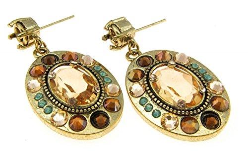 EXOAL Amulett Ohrhänger mit Kristallen EXO161