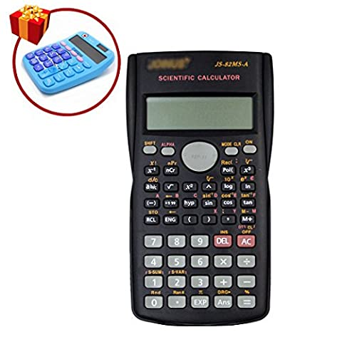 LA HAUTE Scientific Calculators Portable Handheld Calculators with Hard Case