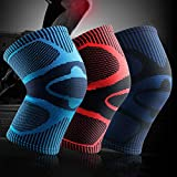xMxDESiZ 1 St¨¹ck Fu?Ball Basketball Laufen Elastische Kompression Schutz Knie ?rmel Pad