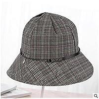 LTQ&qing Sombrero, se?ora, pescador, sombrero, sol, sombrero, sombrero, estudiante, sombrero, marea , E , m (56-58cm)