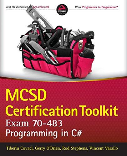 MCSD Certification Toolkit (Exam 70-483): Programming in C (Wrox Programmer to Programmer) por Tiberiu Covaci