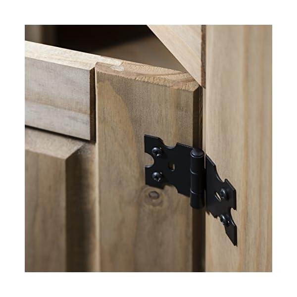 sideboardsmobel anrichte sideboard kommode stil 2 turen 2 schubladen gebeizt gewachst diele