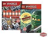 LEGO Ninjago - 1001 Sticker + Mein extragroßer Rätselspaß (Taschenbuch)