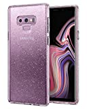 Spigen [Liquid Crystal Glitter Coque Samsung Galaxy Note 9, TPU avec Absorption De Choc, Silicone Souple Transparente, Ajustement Parfait, Coque pour Samsung Galaxy Note 9 2018 - Crystal Quartz