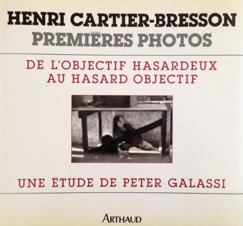 Henri Cartier-Bresson, premires photos : de l'objectif hasardeux au hasard objectif
