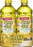 Pine-Sol Multi-Surface Cleaner, Lemon Fresh Scent, Two Count Bottle, 96 fl oz Total by Pine-Sol