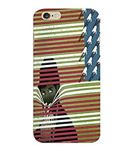 ColourCraft Printed Design Back Case Cover for APPLE IPHONE 6 PLUS