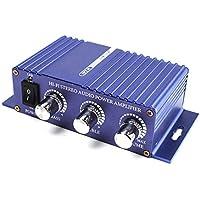 Auveach Amplificatore di Potenza Audio Stereo 300 Hi-Fi da 300 W Deluxe mp3