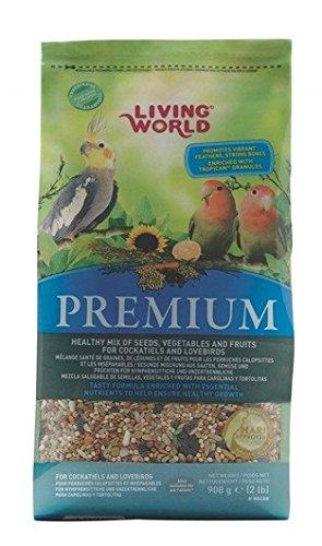 Living WorldMezcla para Cotorra Premium - 908 gr