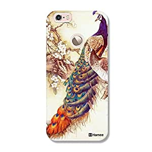 Customizable Hamee Original Designer Cover Thin Fit Crystal Clear Plastic Hard Back Case For Coolpad Max (peacock painting)
