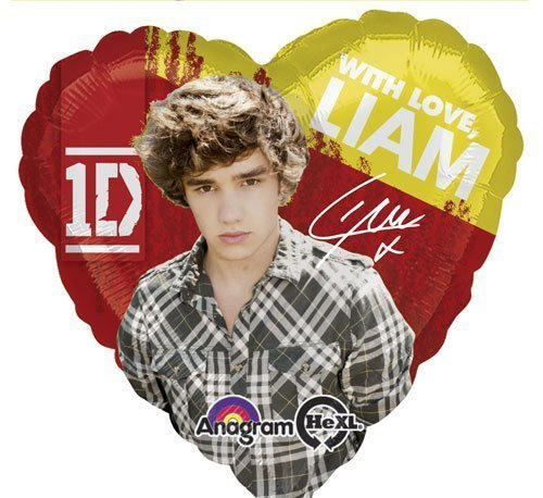 Single Source Party Supplies - 17 One Direction Liam Mylar Foil Balloon by Single Source Party Supplies