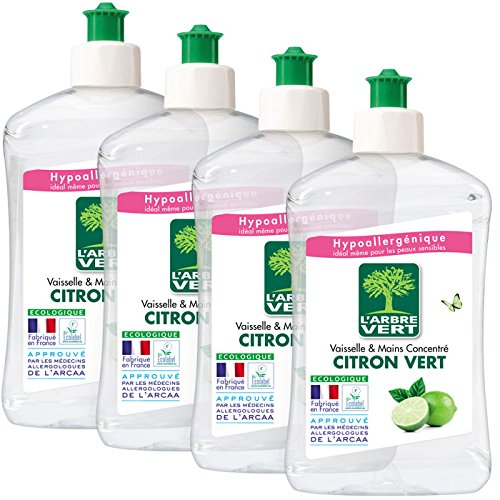 L'Arbre Vert Líquido lavavajillas a mano