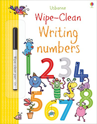 Wipe-Clean Writing Numbers (Wipe-clean Books)