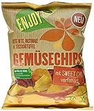 Kühne Gemüse-Chips aus Rote Bete, Pastinake & Süßkartoffel mit Sweet Chili verfeinert , 10er Pack