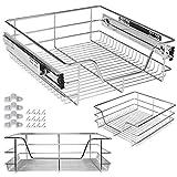 Kesser Teleskopschublade 50 cm ✓ Küchenschublade ✓ Küchenschrank ✓ Korbauszug ✓ Schrankauszug ✓ Vollauszug ✓ Schublade