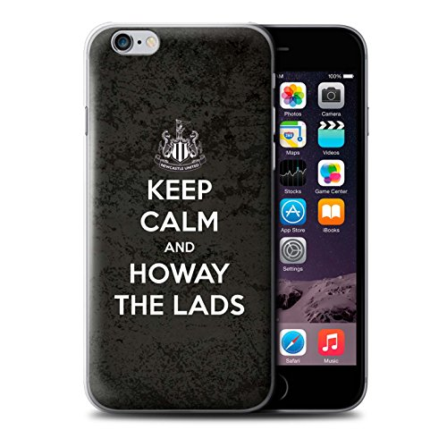 Officiel Newcastle United FC Coque / Etui pour Apple iPhone 6S / Pack 7pcs Design / NUFC Keep Calm Collection Howay Gars