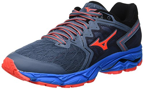 5167283bc0fd Mizuno Women's Wave Ultima 10 (w) Running Shoes, Blue Mirage/Fierycoral/