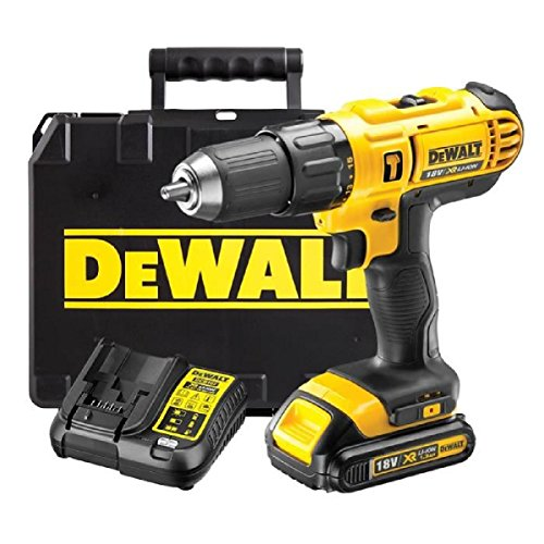 The DeWalt 18V LXT Hammer Drill comes in at an affordable price at under £100 including battery and charger.  We have seen the DeWalt XR Brushless Combi Drill which has faster speed and better performance overall. Comparing both these would be unjust. One is made for bulky heavy duty jobs and uses a brushless motor which is more superior motor, while this LXT model ,all though still impressive has carbon brushes which are replaceable. In general all brushless motors are better and more reliable which is why they are more expensive then brush motors.