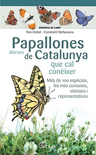 Papallones Diürnes De Catalunya (Miniguia de camp) por Toni Llobet François