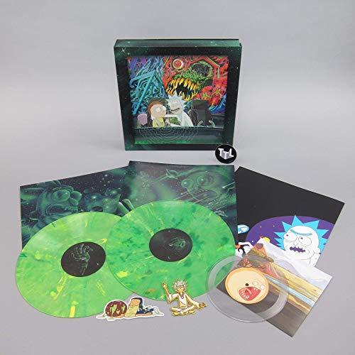 Rick And Morty: Rick And Morty Soundtrack (Vinyl) Vinyl, 2LP+ 17,78 cm Boxset (Record Store Day) (Day Store Record Vinyl)
