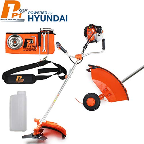 P1PE P5200BC Petrol Grass Trimmer 52 cc Hyundai Engine - Orange