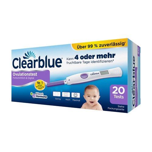 Clearblue Ovulationstest fortschrittlich & digital 20 stk