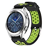 Hagibis Uhren-Armband für Samsung Galaxy Watch 46mm Bands Samsung Gear S3 Frontier oder Samsung Gear S3 Classic (Green)
