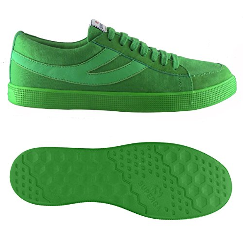 Sneakers - 4571-cotwashsueu Green