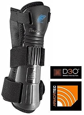 Protektoren Ärmelbündchen Flexmeter FLEXGUARD D3O Glove (Doppel Schiene) Größe L