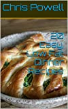 20 Easy, Low Fat Dinner Recipes (English Edition)
