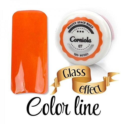 Color Line – 07 cornaline – Glass Effect – Gel UV coloré 5 ml