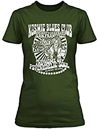 JANIS JOPLIN inspired Kozmic Blues T-shirt, Damen