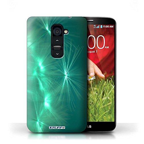 Kobalt® Imprimé Etui / Coque pour LG G2 / Pourpre conception / Série Allumez la vie Turquoise