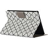 Kaiki Intelligent Sleep Folding Stand lackiert Leder Tasche für Amazon Kindle Paperwhite 1/2/3 6Inch (A)