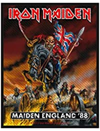 IRON MAIDEN maiden england PATCH 10X10CM