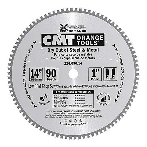 CMT Orange Tools 226,080,12 m métaux pour scie circulaire 305 x 30 x 80 z 2,2 fwf 5 degrés