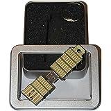 Souvenir Pisa | Geschenkidee: USB-Stick mit Schlüsselanhänger in Form des Schiefen Turms von Pisa für Frauen & Männer | Memory Stick 2 GB | CultourStix