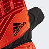 adidas PRED TRN Gants de Foot Mixte Adulte, Active Black/Solar Red, FR : 3XL (Taille Fabricant : 10)