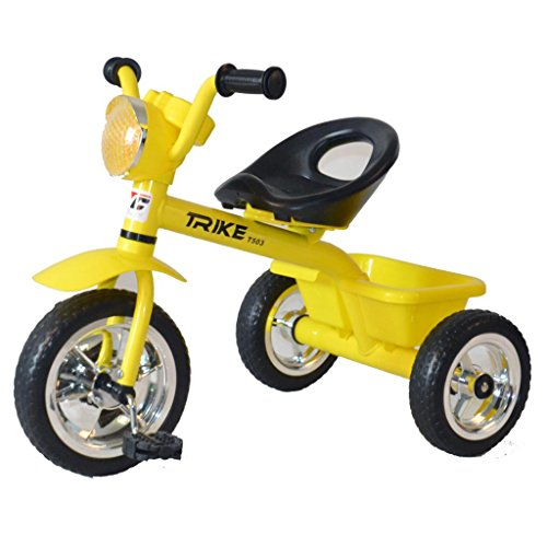 COSMIC TRIKE KIDS TRI-CYCLE YELLOW