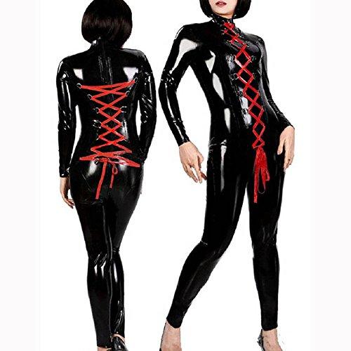 Tanz Billig Kostüm Für Erwachsene - Langärmeliges rot Leder Armband Leder club Siam hosen Club Kleidung DS Stahlrohr Tanz Kostüm